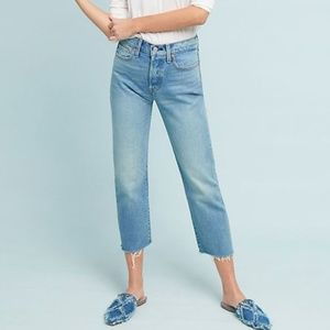 Levi's Wedgie Fit Straight Light Wash, size 29